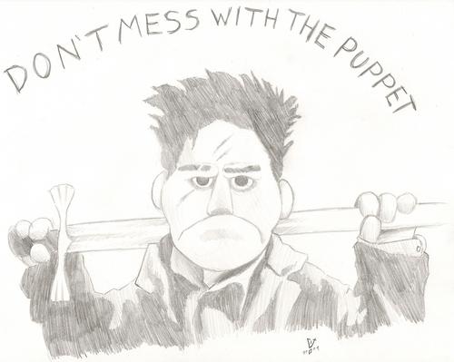 Puppet Энджел Sketch