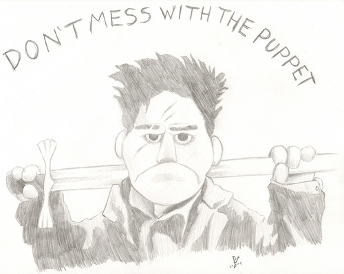 Puppet Angel Sketch
