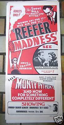 Reefer Madness Original 1936 Poster