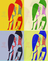 Request - SofieXDuncan pop art - total-drama-island fan art