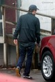 Rob arriving on Eclipse set - twilight-series photo