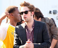 Rob at the teen choice awards - twilight-series photo
