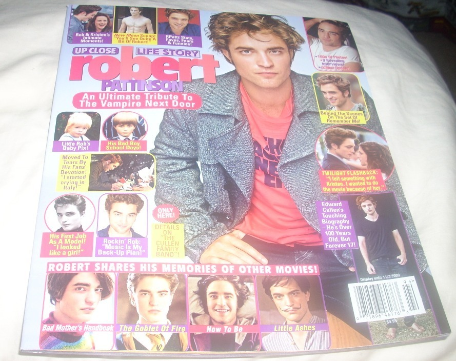Robert Pattinson: Life Story Mag