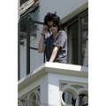 Robert Pattinson and Kristen Stewart balcony pics