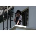 Robert Pattinson and Kristen Stewart balcony pics - twilight-series photo