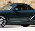 Robert Pattinson is driving away from Kristen Stewart's house (in a Porche) - twilight-series photo