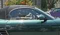 Robert Pattinson - out and about driving his new car - twilight-series photo