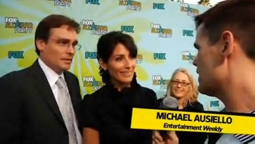 Robert Sean Leonard and Lisa Edelstein