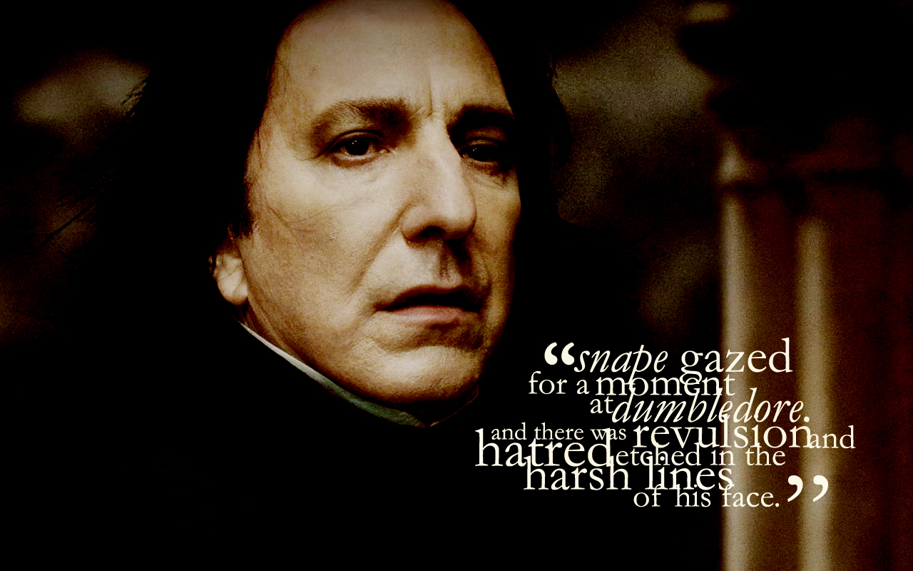 Severus Snape - The Half-Blood Prince - Severus Snape ...