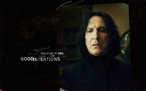 Severus Snape Hintergrund possibly with a sign called Severus Snape - The Half-Blood Prince