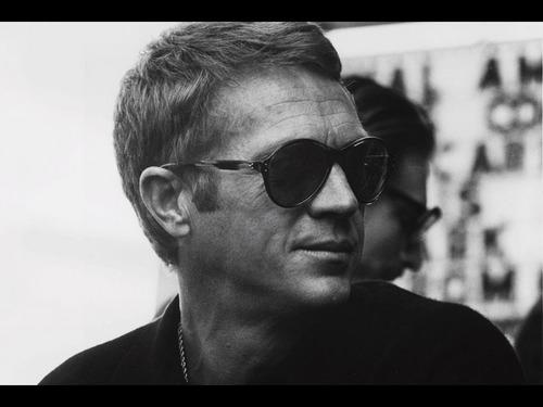 Steve McQueen wallpaper with sunglasses titled Steve McQueen