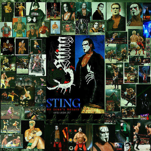 Sting's many faces - sting-wcw Photo