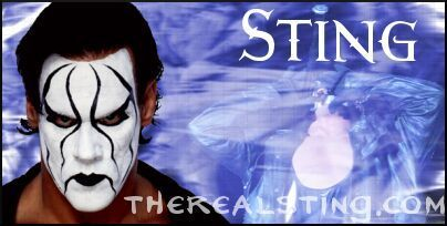 Sting WCW wallpaper entitled Sting signature by Logan