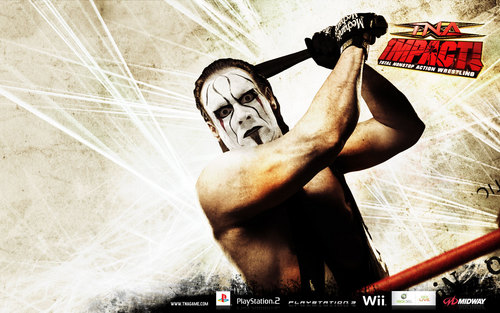 Sting WCW wallpaper possibly containing anime titled TNA Impact Sting
