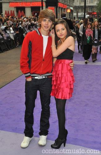 Thomas and Maddie at the Jonas Brothers 3D Premiere