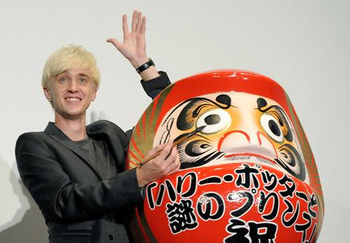 Tom Felton in HBP Tokyo Photocall