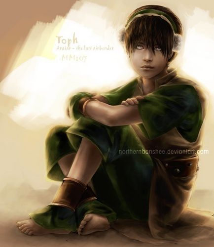Toph, the earthbender