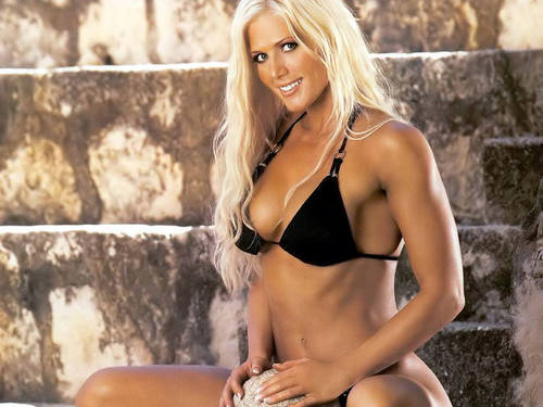 Torrie Wilson پیپر وال possibly with a bikini and attractiveness called Torrie Wilson