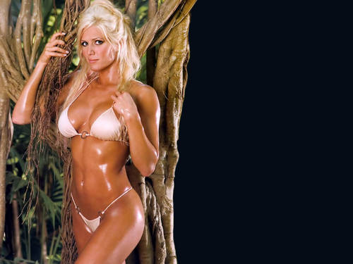 torrie wilson fondo de pantalla containing a bikini called Torrie Wilson