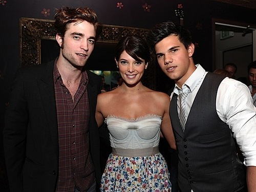 Twilight Cast at Sims Party