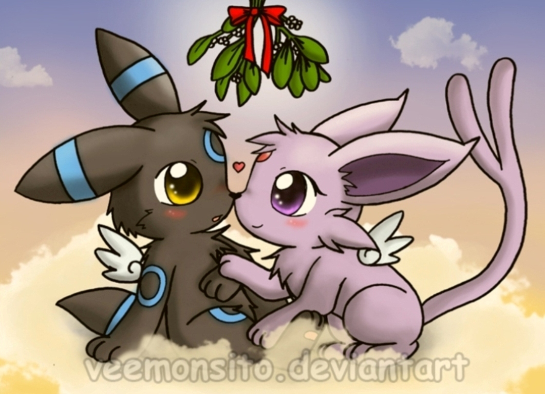 Umbreon-love-Espeon-pokemon-chibis-75566