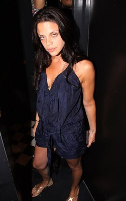 "Vanessa Ferlito attends the after party for the screening of ""Loso's Way"""