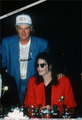 Various > Michael and Elizabeth Taylor at the Tavern On The Green - michael-jackson photo
