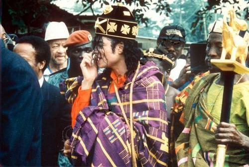 Various > Michael visits Africa