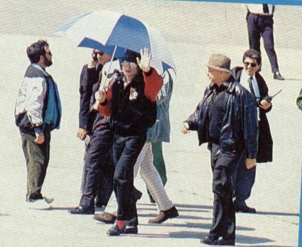 Various > Michael visits Buenos Aires
