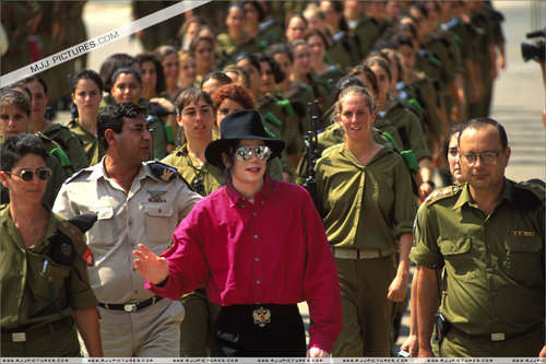 Various > Michael visits Israel