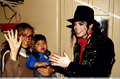 Various > Michael visits Santiago - michael-jackson photo