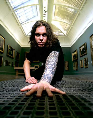 Ville Valo wallpaper containing a sign entitled Ville Valo <3