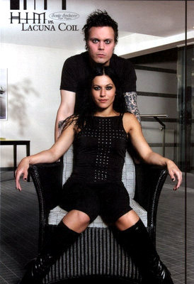 Ville Valo & Cristina Scabbia<3