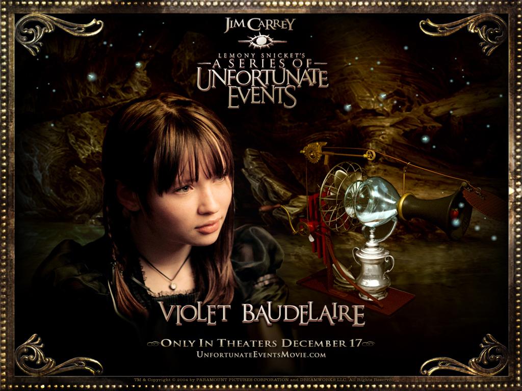 A Series Of Unfortunate Events Wallpaper: Violet Baudelaire Wallpaper