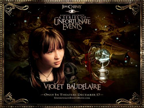 Violet Baudelaire Wallpaper