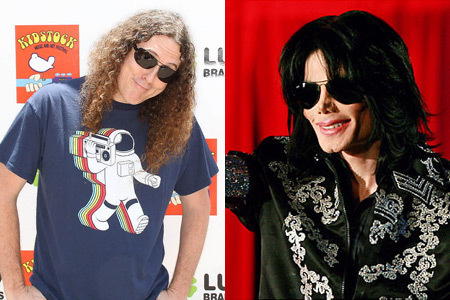 Weird al and michael jackson