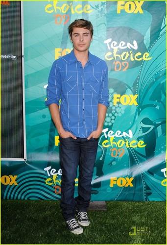 Zac @ the 2009 Teen Choice Awards