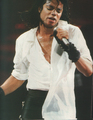 bad tour - Michael's performing