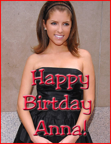 happy birthday Anna!!!!^.^