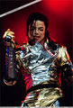history tour - on stage  - michael-jackson photo
