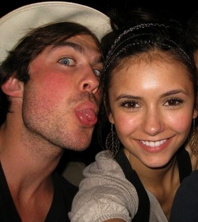 ian and nina - damon-and-elena Photo