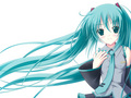 miku hatsune - vocaloids wallpaper