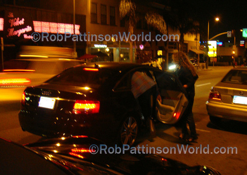 और rob/kristen leaving Marcus' दिखाना