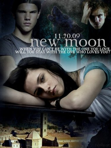 new moon-bella, edward, jacob :)