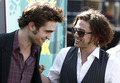 rob and jackson - twilight-series photo