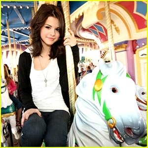 selena gomez is carousel cute