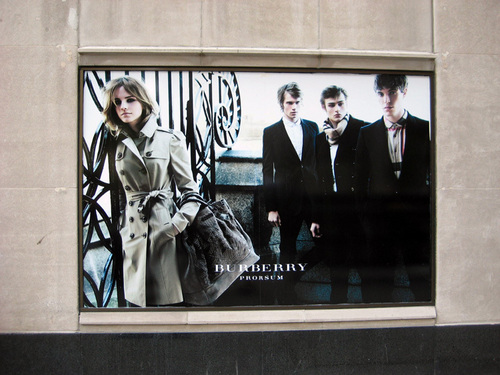 the burberry store in Chicago