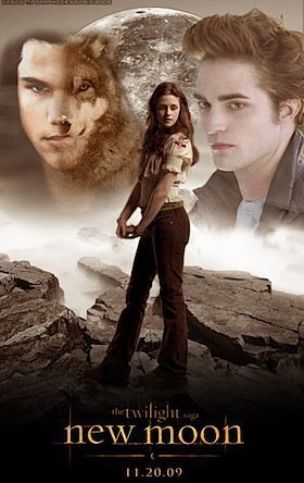 bella and jacob and edward