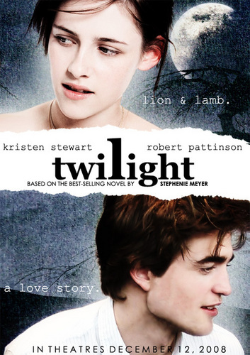 A really, really old Twilight movie cover
