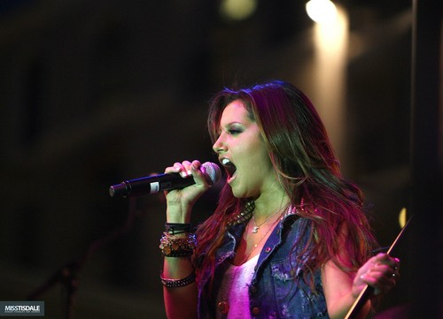 Ashley performing at The Americana in Glendale - August 12 2009 AUGUST-12TH-The-Americana-at-Brand-Concert-ashley-tisdale-7645990-500-361